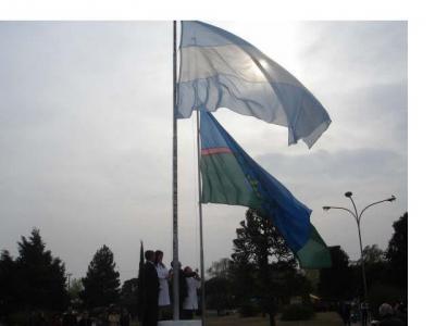 Te muestro mi bandera... porque no vas a creer que esta fiesta es en Argentina